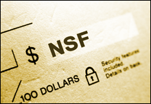 Resubmit NSF Checks for Check Verification